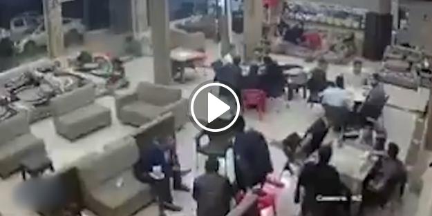 Iraklılar korkunç depreme böyle yakaladılar