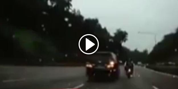 Korkunç kaza kamerada!