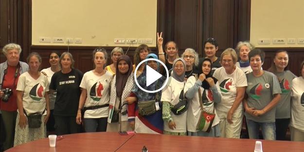 Korkusuz kadınlar Filistin yolunda!