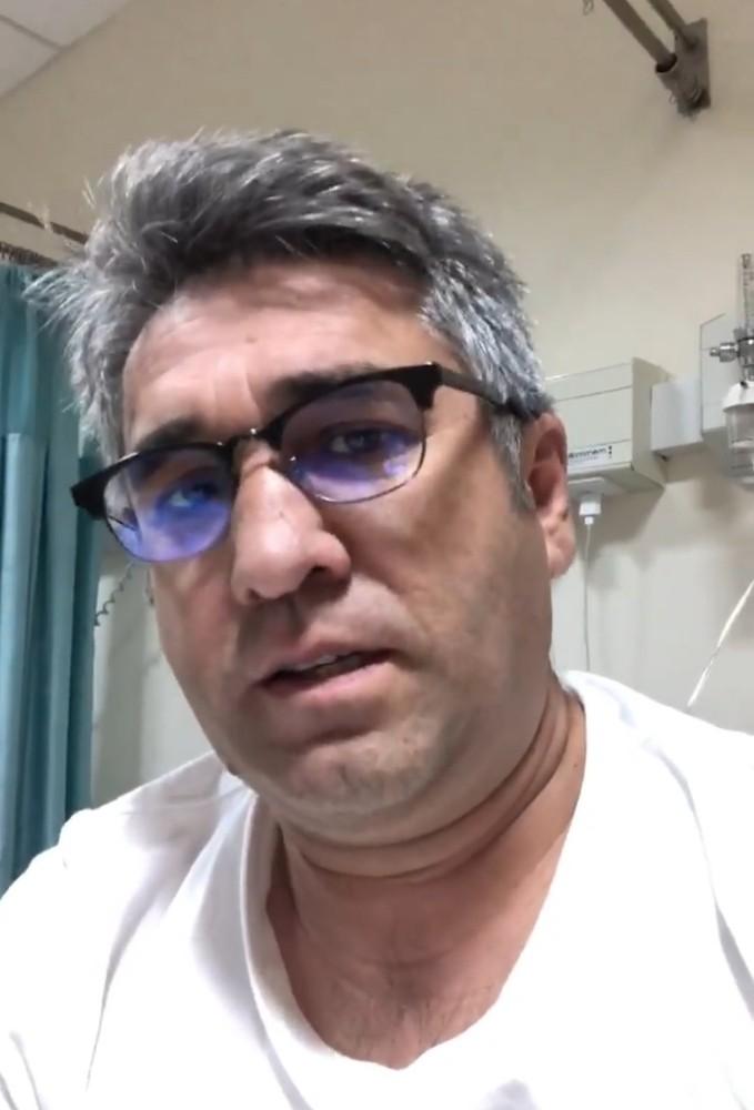 """Korona tedavisi süren Osmaniyeli esnaftan """"Evde Kal"""" çağrısı"""