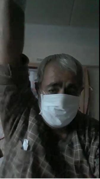 Korona virüs tedavisi gören 59 taşındaki hastadan umut dolu paylaşım