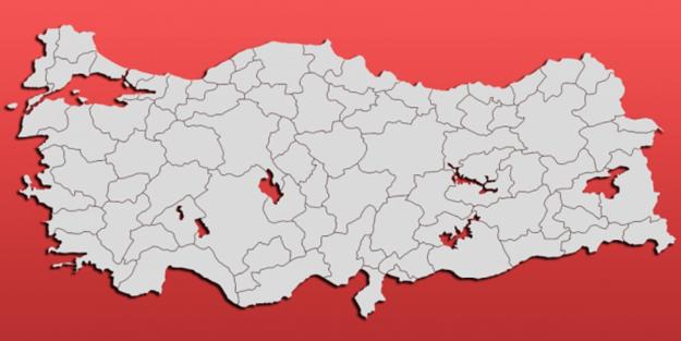 Koronavirüs yoğunluk haritası | İstanbul yoğunluk haritası