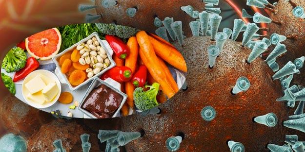 Koronavirüse karşı bitkisel kür | Bağışıklık sistemini güçlendiren besinler