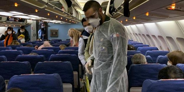 Koronavirüse karşı uçakta hangi önlemler alınmalı?