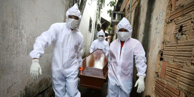 Koronavirüste kabusu yaşadılar! Son 24 saatte 2322 kişi öldü