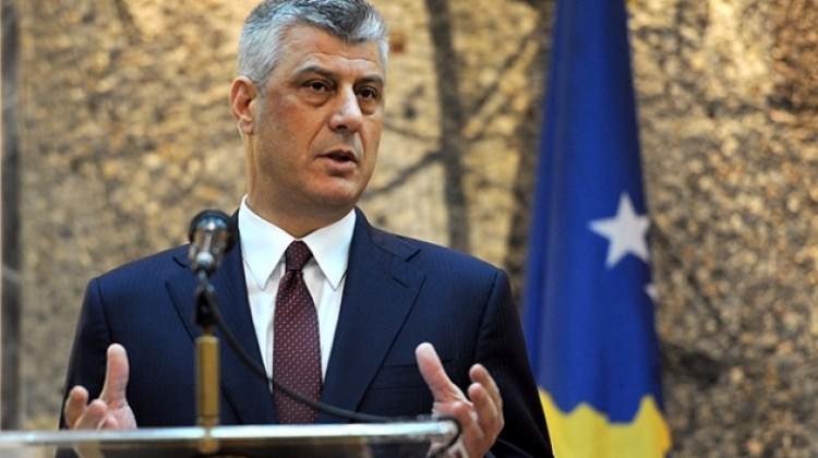 Kosova Cumhurbaşkanı Hashim Thaçi'den birleşme sinyali