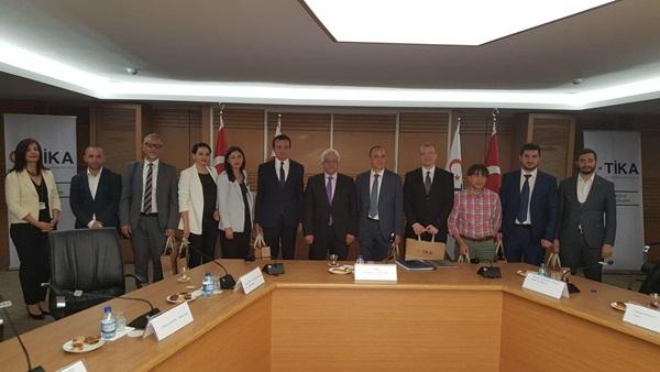 Kosova Vetevendosje Lideri TİKA'yı ziyaret etti