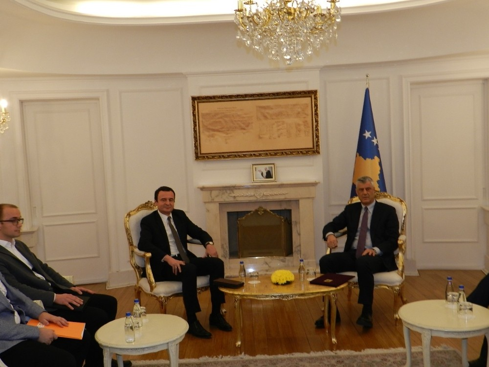 Kosova'da 3 ayın ardından hükümet kurma süreci başladı