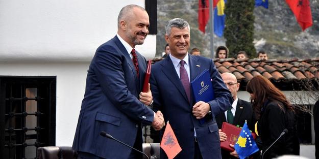 Kosova'dan o birleşmeye destek