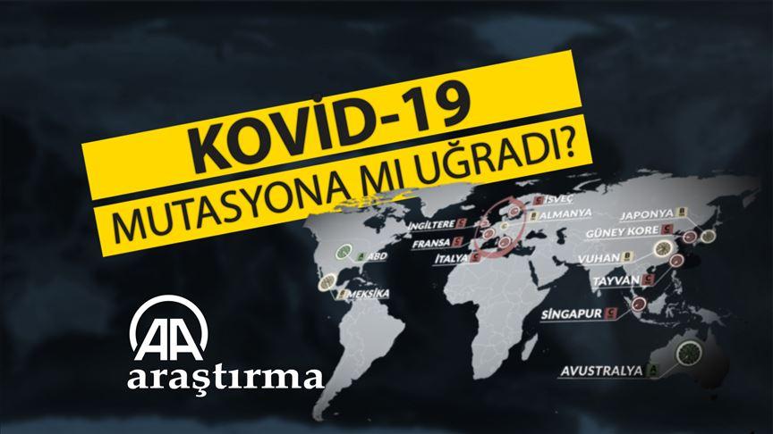 Kovid-19 mutasyona mı uğradı?