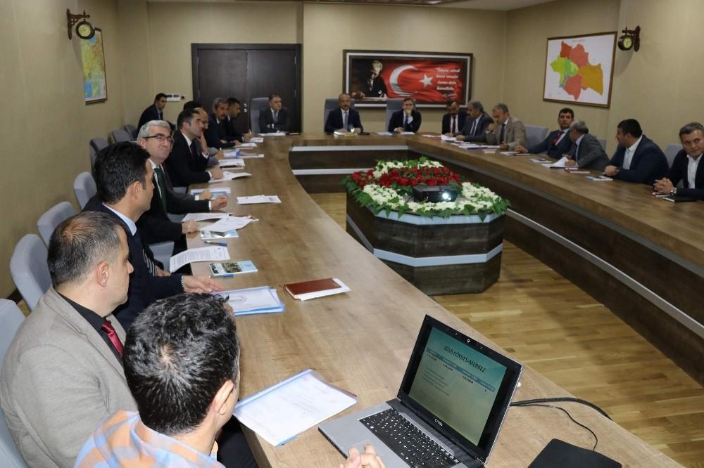 KÖYDES toplantısı Vali Atik başkanlığında yapıldı