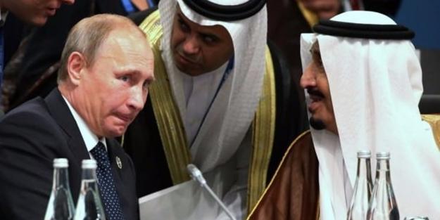 Kral Selman'dan Putin'e şaşırtan telefon