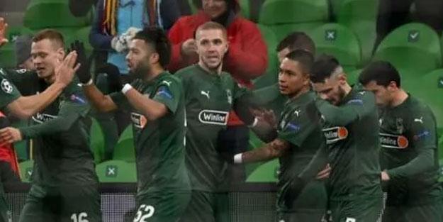 Krasnodar Avrupa Ligi için avantajı yakaladı