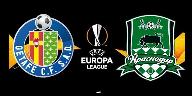 Krasnodar Getafe maçı ne zaman saat kaçta hangi kanalda? UEFA Avrupa Ligi C Grubu