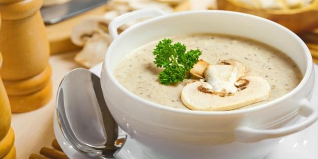 Kremalı mantar çorbası nasıl yapılır? Ev yapımı nefis kremalı mantar çorbası tarifi