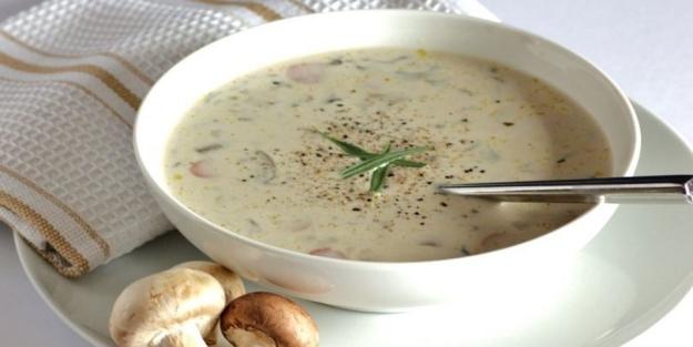 Kremalı mantar çorbası nasıl yapılır? Nefis mantar çorbası tarifi
