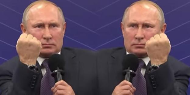 Kremlin'den Putin'in el hareketine açıklama