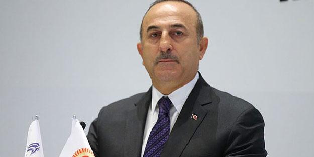 Krimi'ye ağzının payını veren Çavuşoğlu'na, Cezayir'den destek yağıyor