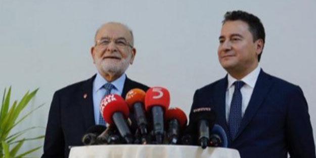 Kritik görüşme sonrası Temel Karamollaoğlu ve Ali Babacan'dan ilk açıklama!
