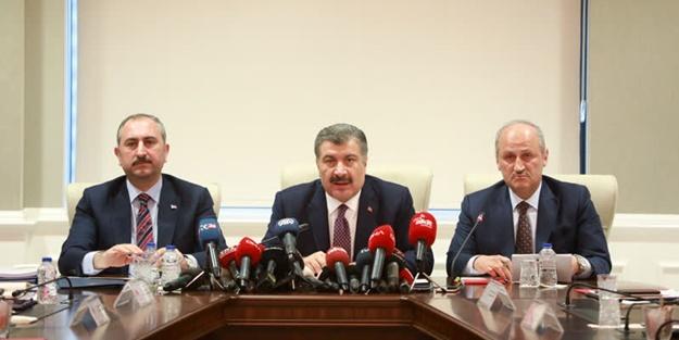 Kritik toplantı sonrası 3 bakandan ortak açıklama