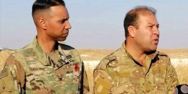 Kritik zirve öncesi skandal görüntü! ABD'li komutanla YPG'li terörist aynı karede