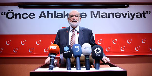 Kritik ziyaret sonrası Karamollaoğlu'ndan AK Parti'yle ittifak açıklaması
