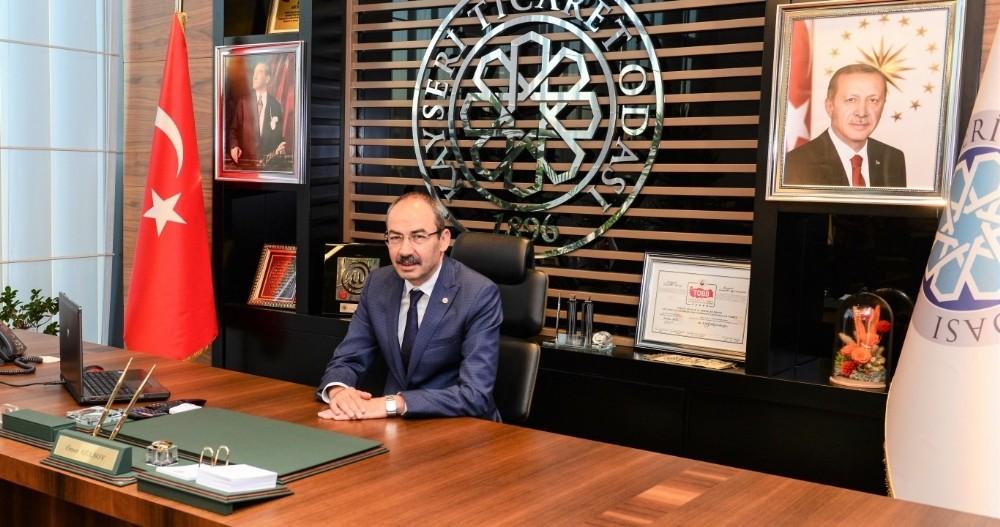 """KTO Başkanı Gülsoy : """"Miraç bir yükseliştir"""""""