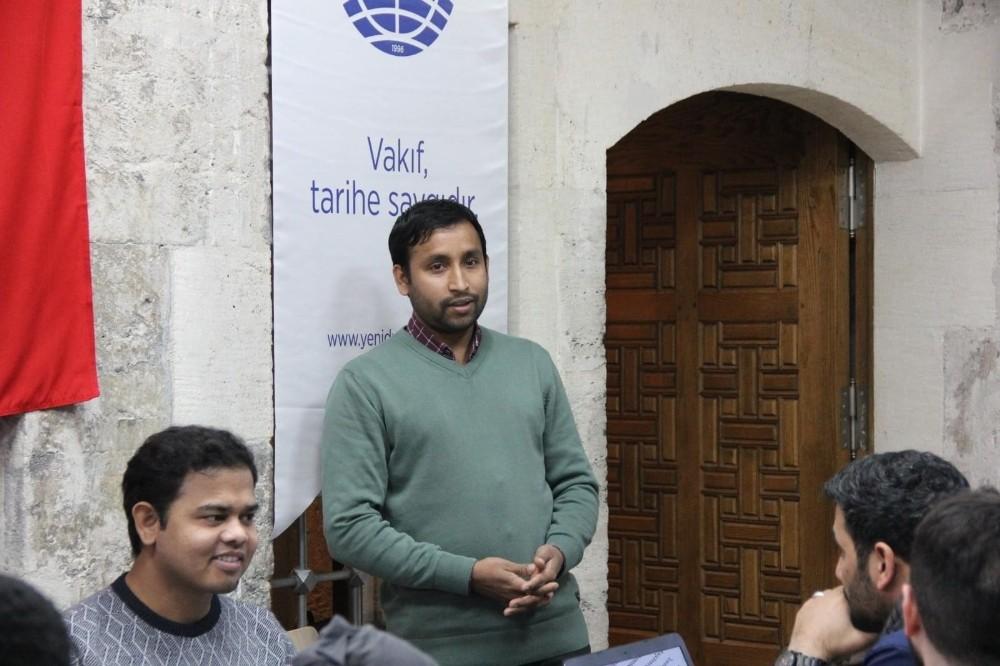 KTÜ'de doktorasını yapan Bangladeşli akedemisyen Kurtuluş Savaşında Bangladeşli Müslümanların rolünü anlattı