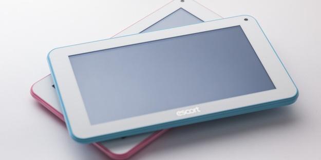 Küçük tablette en iyi seçim; Escort Joye 7 inç tabletler