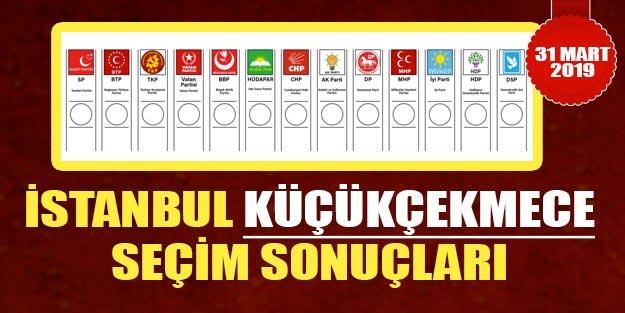 Küçükçekmece yerel seçim sonuçları 2019 | İstanbul Küçükçekmece 2019 yerel seçim sonuçları