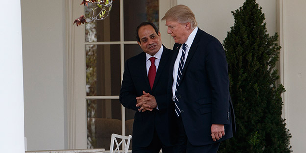 Kukla Sisi yönetimi başkaldırdı! ABD'nin tehditlerine böyle cevap verildi