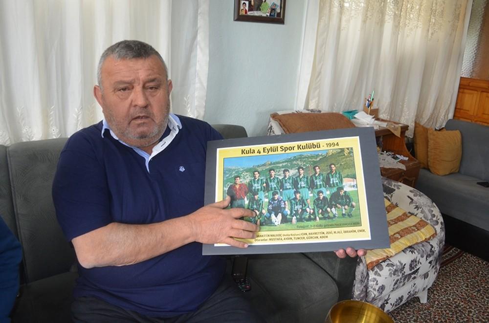 Kula'da futbolun kara günü unutulmadı