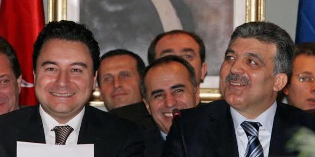 Kulisleri sallayan iddia! Gül ve Babacan vaz mı geçti?