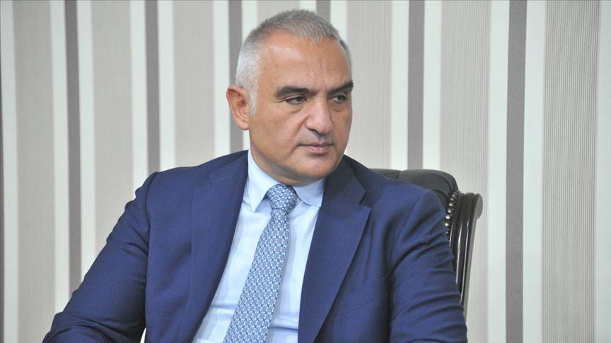 Kültür ve Turizm Bakanı Mehmet Nuri Ersoy: Önceliğimiz yabancı misafirlerin ülkelerine dönmeleri