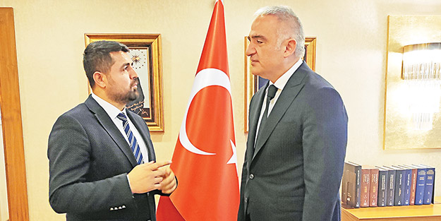 Kültür ve Turizm Bakanı Mehmet Nuri Ersoy Yeni Akit'e konuştu: 2020'de 58 milyon turistin gelmesini bekliyoruz