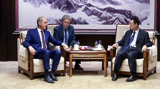 Kültür ve Turizm Bakanı Numan Kurtulmuş Çin'de