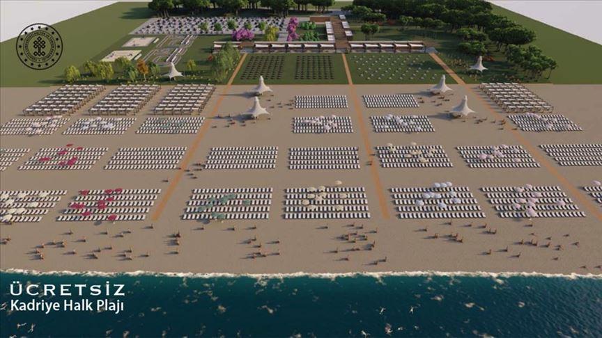 Kültür ve Turizm Bakanlığı 'beş yıldızlı ücretsiz halk plajları' serisine devam ediyor