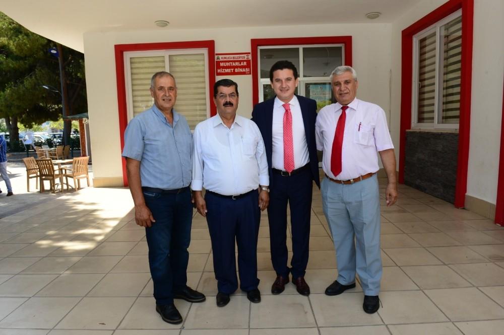 Kumluca'da muhtarların yeni başkanı İbrahim Songur oldu