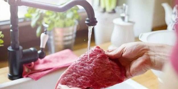 Kurban eti yıkanır mı? Kurban eti yıkanırsa ne olur? Kurban etini yıkamak doğru mu?