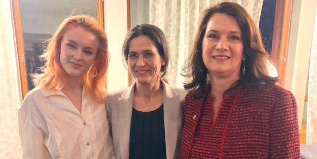 Küstah İsveçli bakan Türkiye'yi kınadı, PKK'ya seslendi: Ben sizin dağınızım