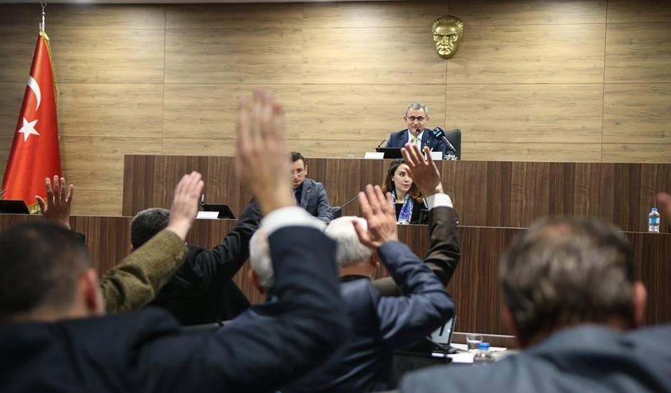 Kütahya Belediye Meclisi'nde görev dağılımı