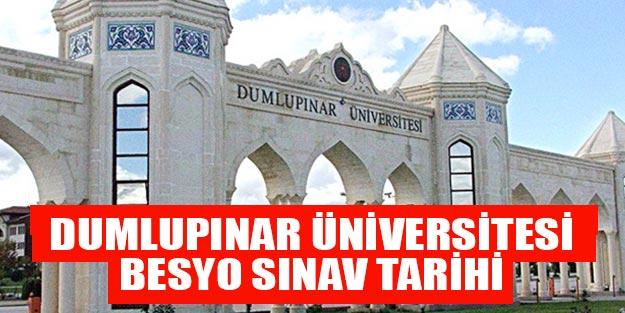Kütahya Dumlupınar Üniversitesi Besyo sınav tarihi Dumlupınar Üniversitesi sınav sonuçları Dumlupınar Üniversitesi besyo kayıtları