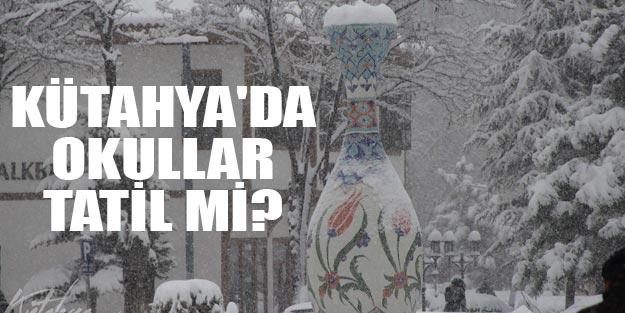 Kütahya'da okullar tatil mi? 4 Aralık Çarşamba Kütahya'da okullar tatil mi?
