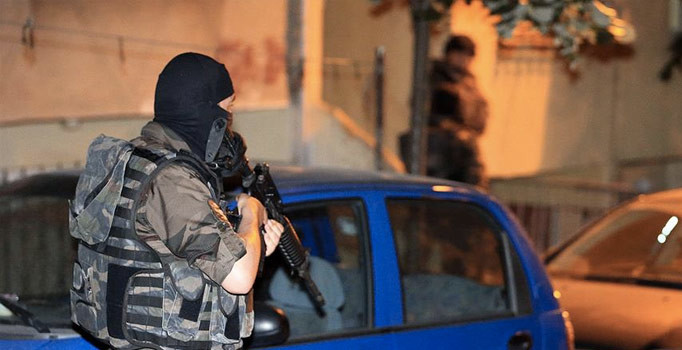 Kütahya'da terör operasyonu: 12 zanlı yakalandı
