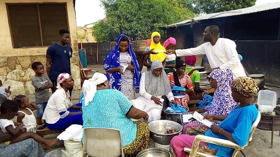 Kütahyalı dernekten Gana'ya yardım