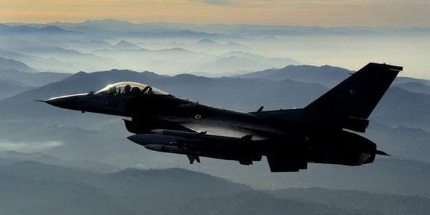 Kuzey Irak havadan vuruldu! 3 terörist öldürüldü