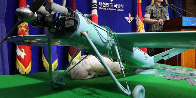 Kuzey Kore'nin insansız hava aracı Güney Kore'de düştü!Sınırda düşürüldü! Her şeyi kaydetmiş…