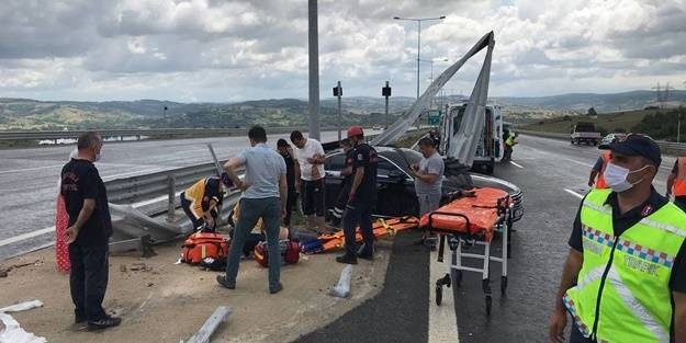 Kuzey Marmara Otoyolu'nda kaza: Ölü ve yaralılar var