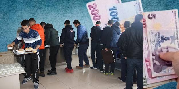 KYK yurt yemek ücretleri ne kadar? KYK yurtları kahvaltı ve akşam yemeği kaç para?