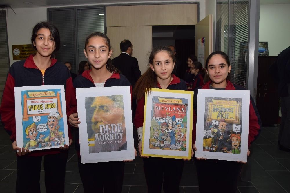 Lapseki'de Kütüphane Haftası etkinlikleri